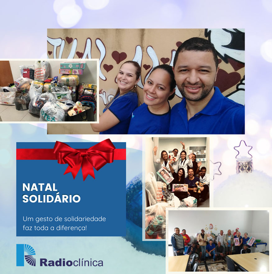 Natal Solidário família Radioclínica